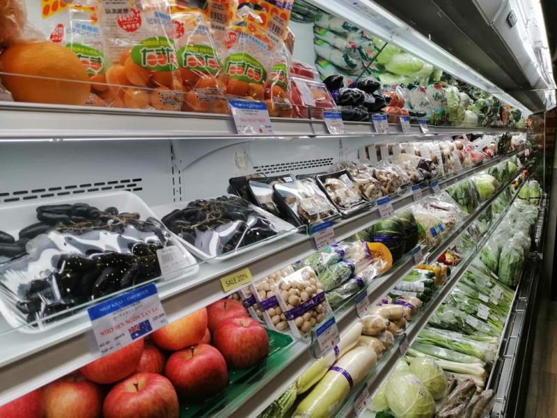 Bên trong siêu thị Akuruhi Lê Thánh Tôn