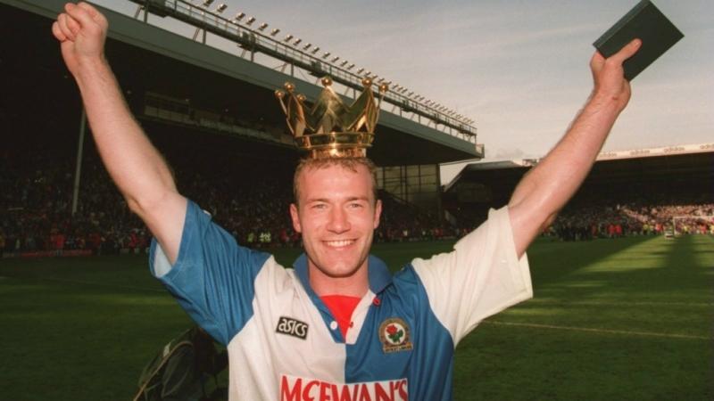 Shearer từng vô địch Premier League với Blackburn