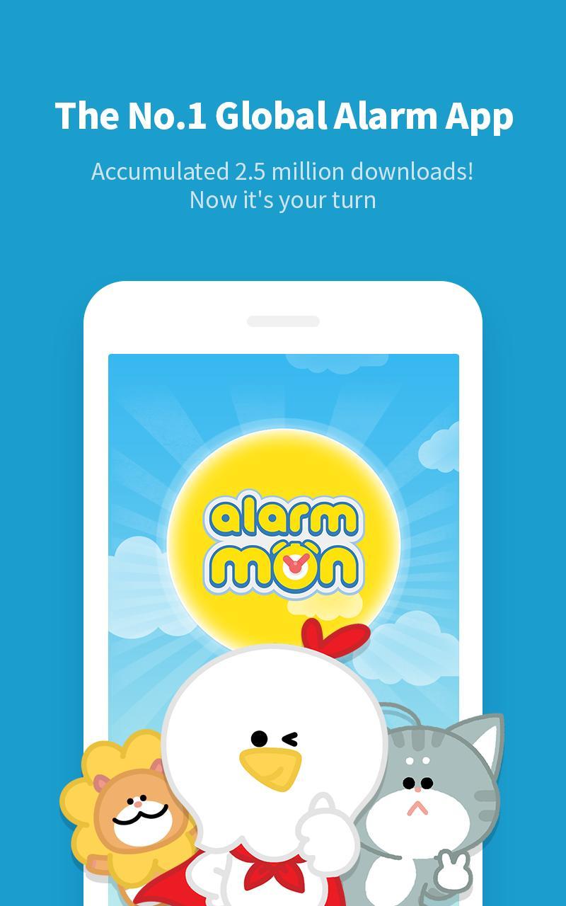 AlarmMon - Ứng dụng báo thức đáng yêu nhất