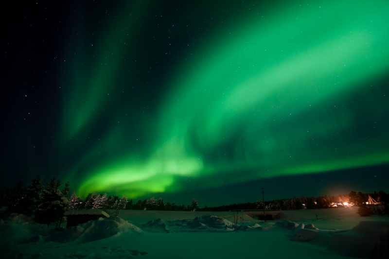 Alaska - miền đất của mặt trời lúc nửa đêm.