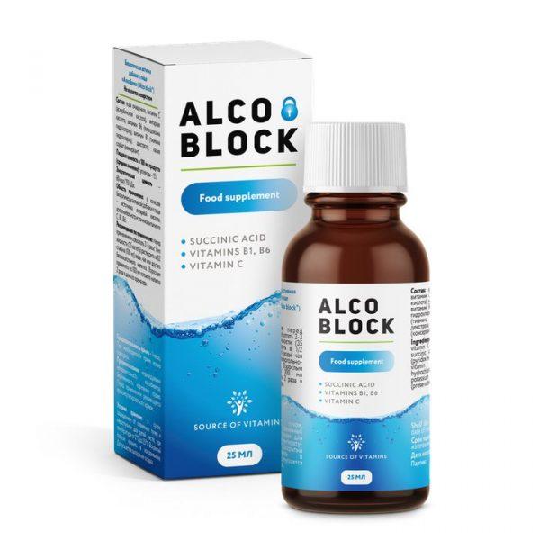 Alco Block – Viên uống giải rượu Nga