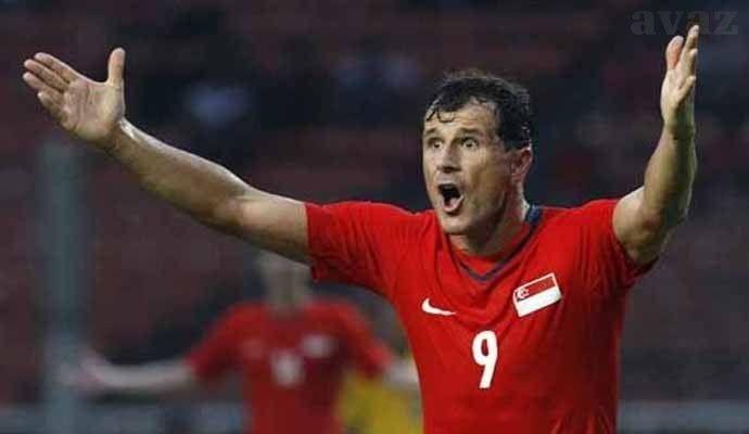 Aleksandar Duric trong màu áo Singapore