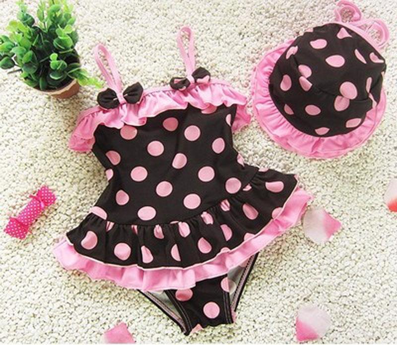 Bộ đồ bơi bé gái thời trang, màu sắc dễ thương, kiểu dáng đáng yêu tại ALITAOBAO