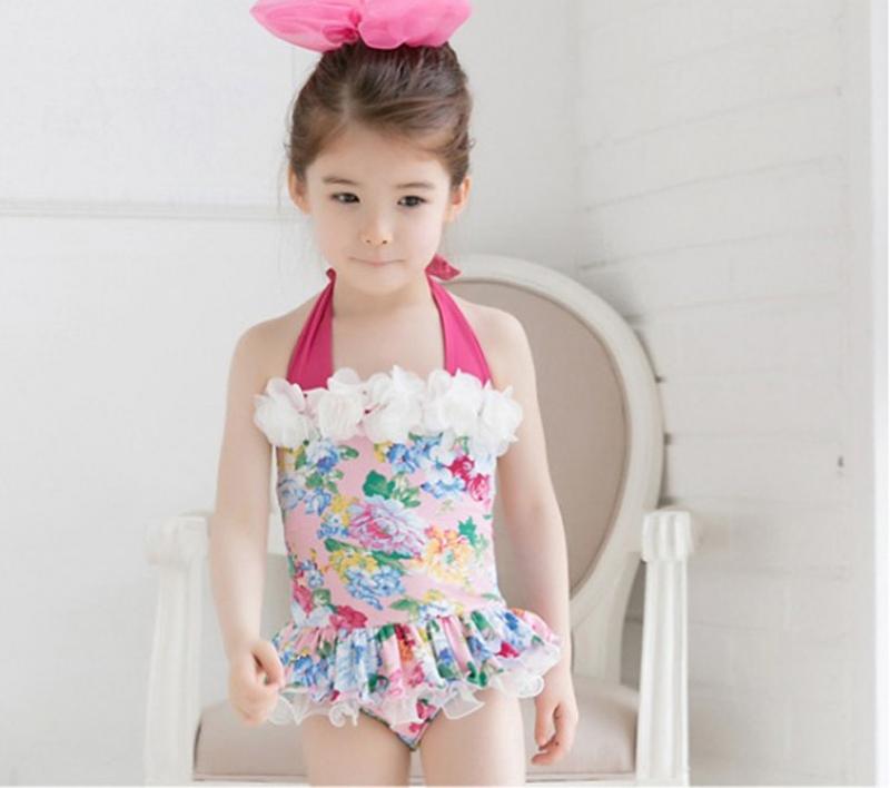 Đồ bơi bé gái thời trang, thiết kế thoải mái cá tính, phong cách Hàn tại ALITAOBAO