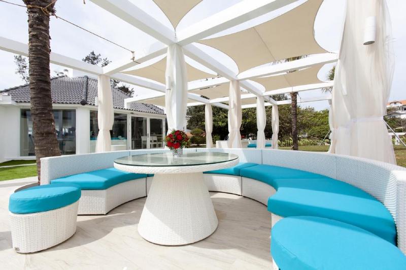 Không gian rộng rãi, thoáng mát tại Alma Oasis Long Hải Resort