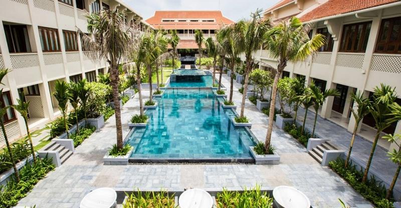 Almanity Hội An Resort and Spa tọa lạc ngay trung tâm thành phố Hội An với kiến trúc vô cùng độc đáo