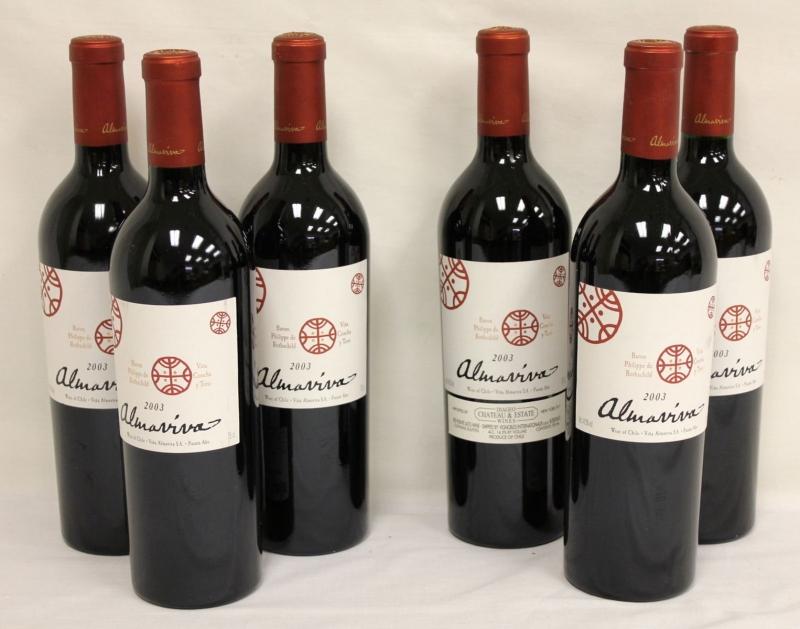 Almaviva là hãng rượu nổi tiếng Chile