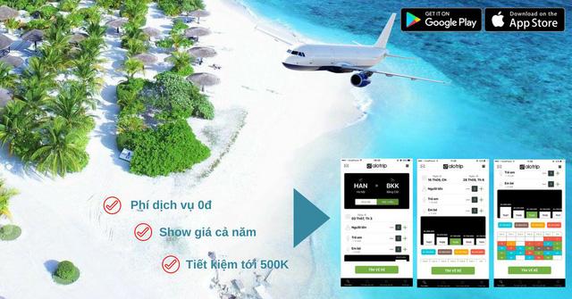 Ứng dụng đặt vé máy bay Alo Trip