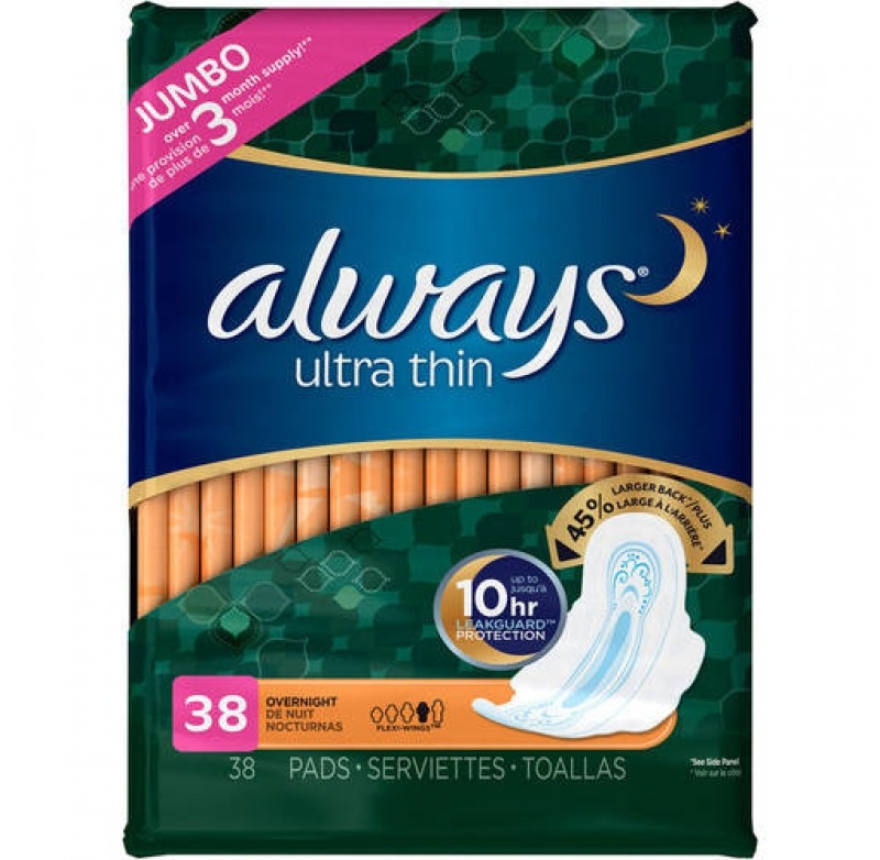 Băng vệ sinh Always Ultra Thin đến từ Mỹ