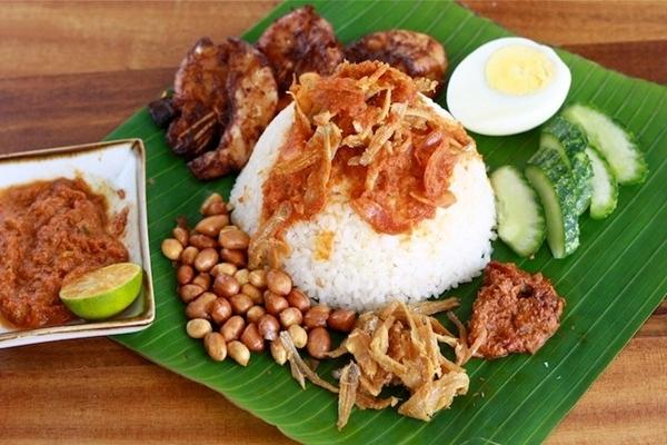 Món cơm cà ri Nasi Kandar thật hấp dẫn