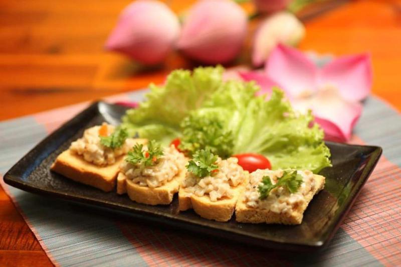 Ẩm thực chay Hoa Thiên