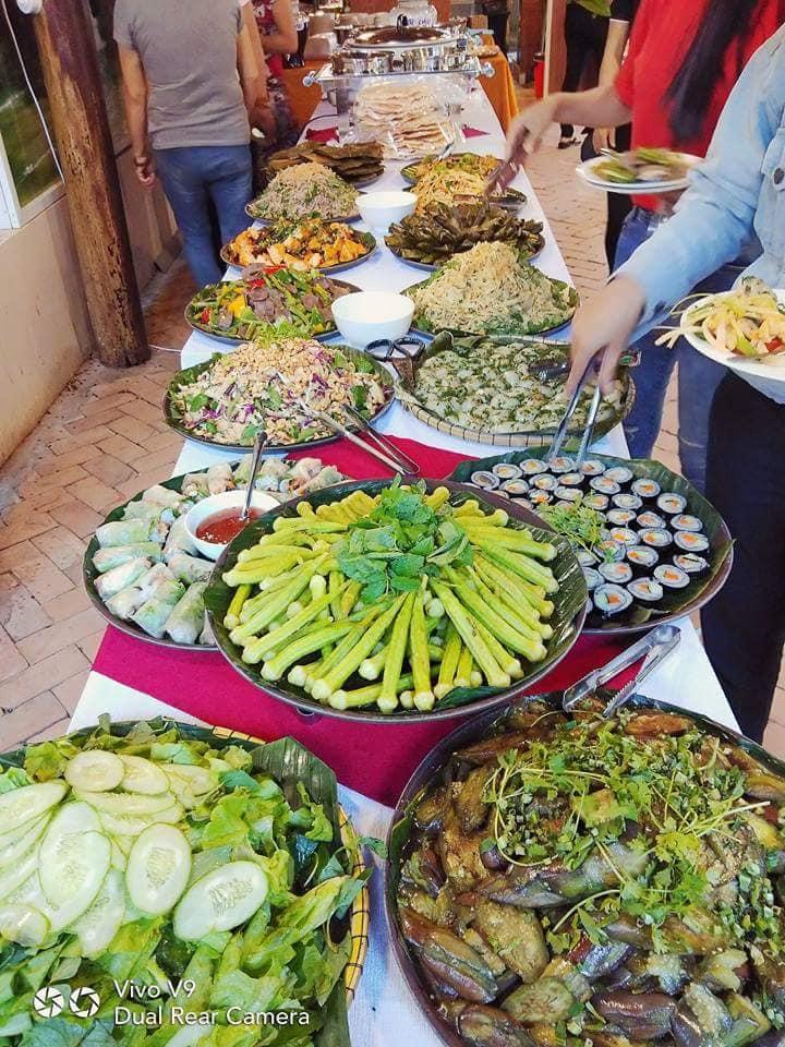 Ẩm thực chay Vườn Hồng