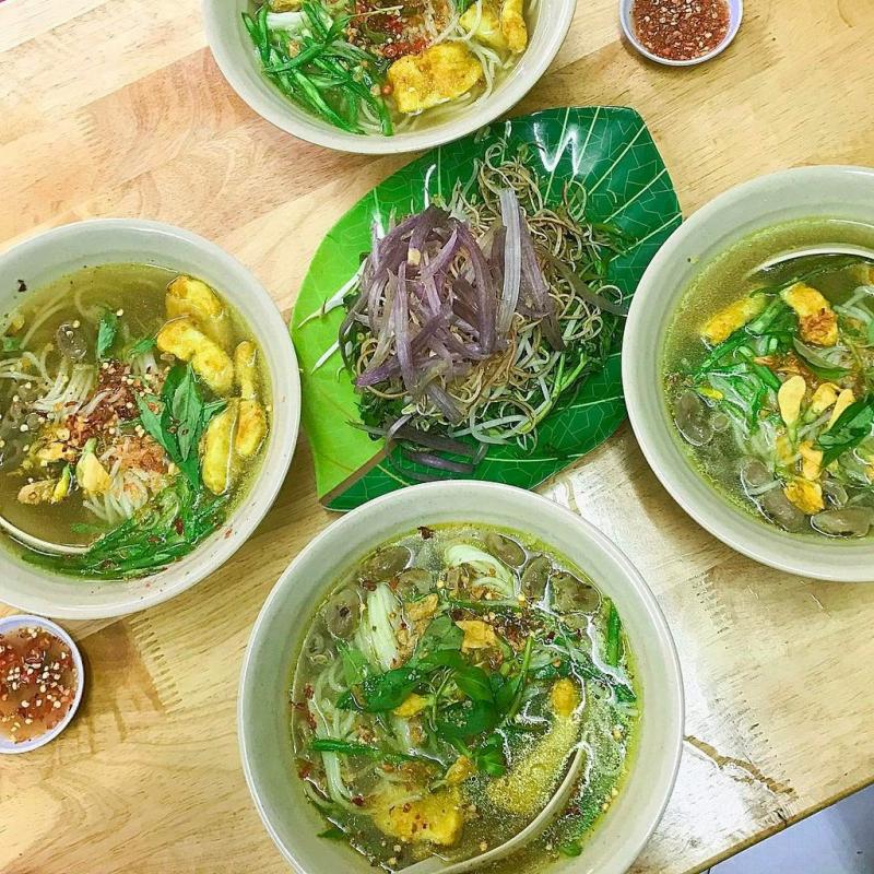 Saigon fish noodle soup