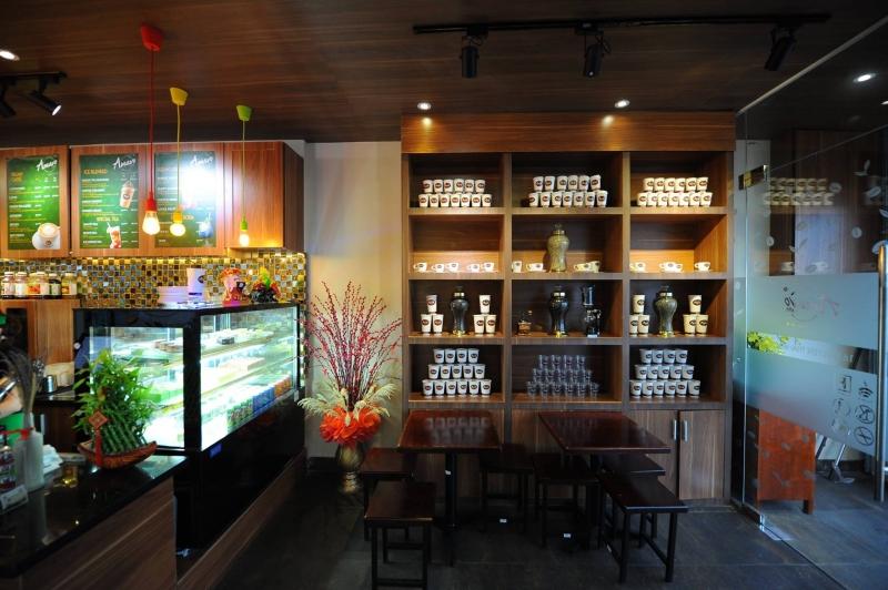 Không gian quán Amavo Coffee