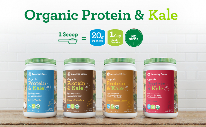 Amazing Grass Organic Protein & Kale