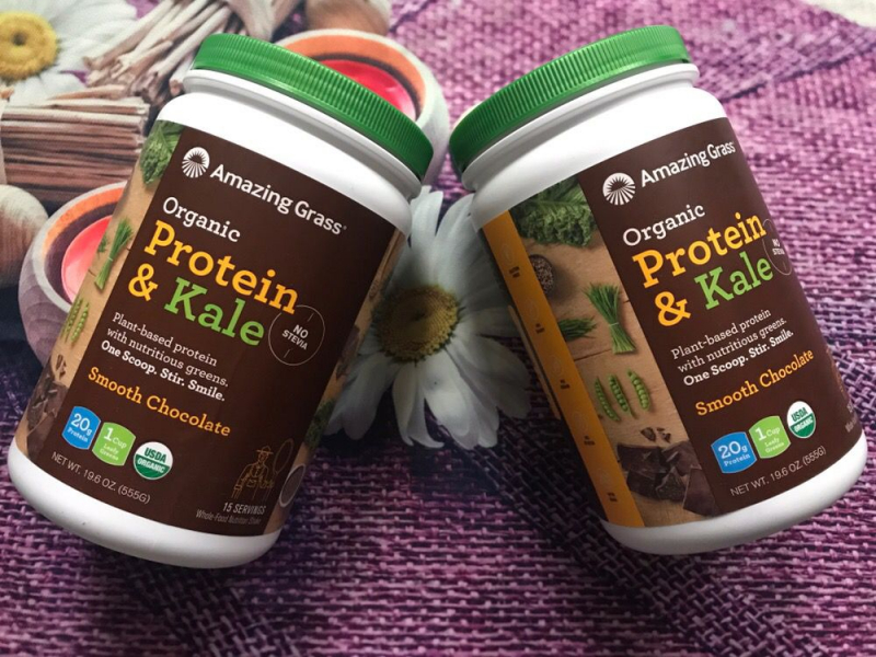 Amazing Grass Organic Protein & Kale