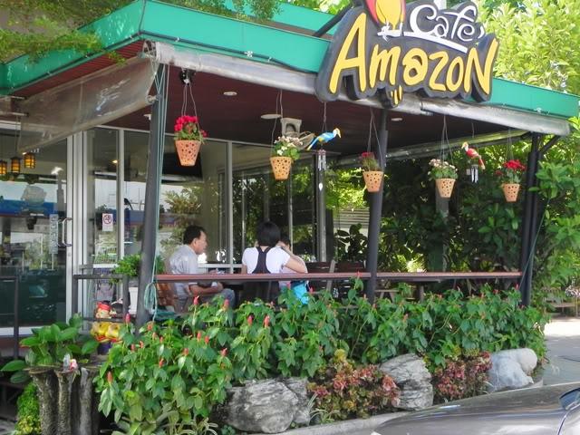 Khung cảnh xung quanh quán Amazon Coffee & Bar