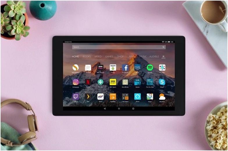 Amazon Fire HD 10 phiên bản 2019 là chiếc tablet lớn nhất và mới nhất của Amazon được trang bị màn hình 10,1 inch