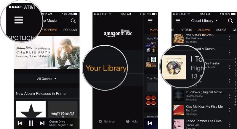 Ứng dụng nghe nhạc Amazon Music