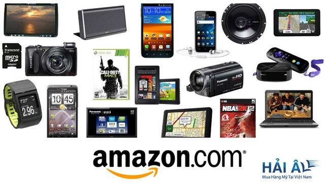 Amazon- Người khổng lồ bán lẻ trực tuyến