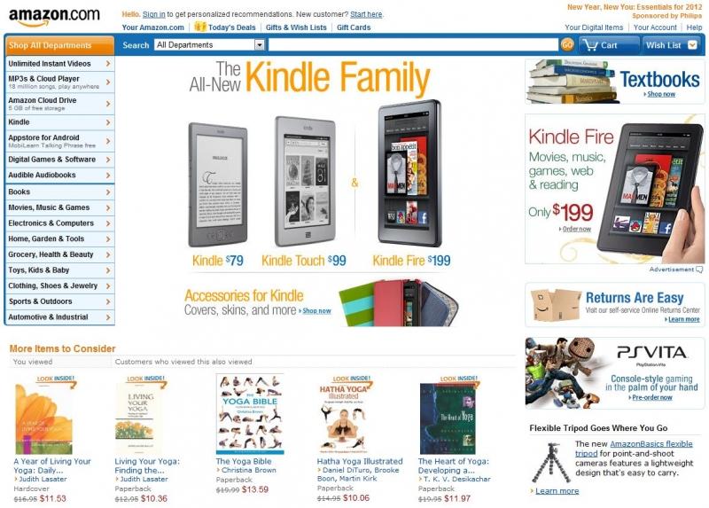 Amazon được coi là người bạn thân thiết với các tín đồ mua sắm.