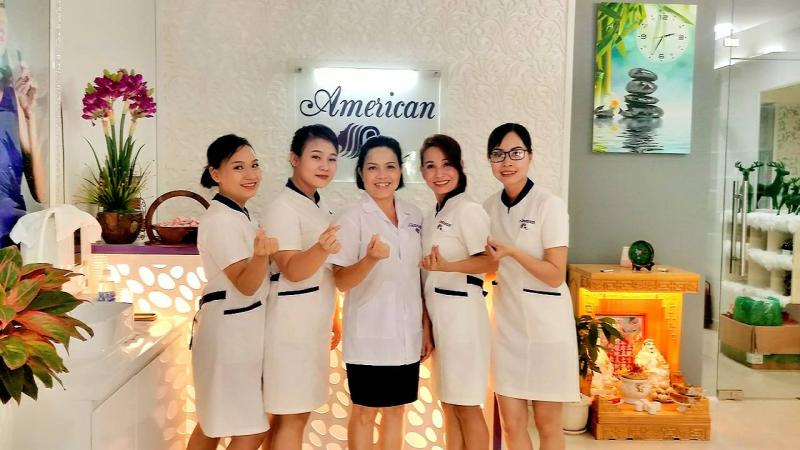 American Spa cung cấp đầy đủ, hoàn thiện các dịch vụ chăm sóc sắc đẹp
