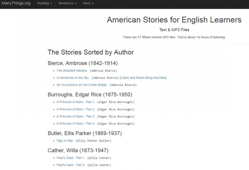 American Stories for English Learners