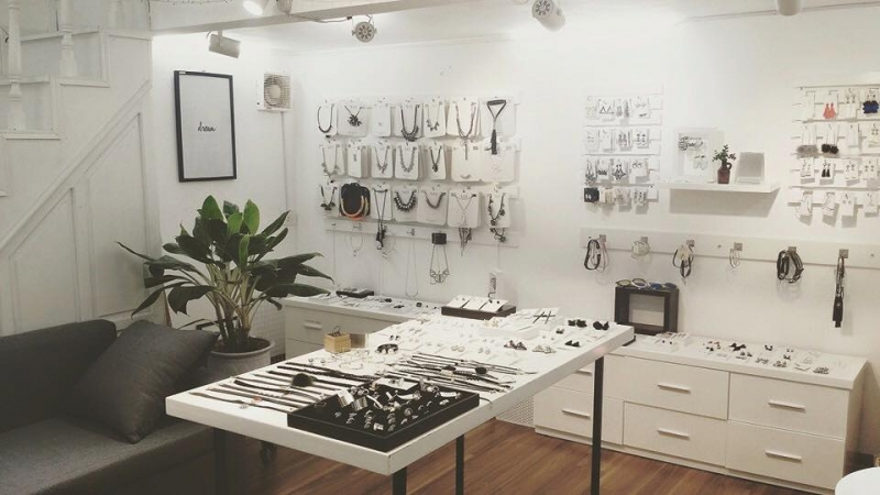 Một góc Amethyst Studio