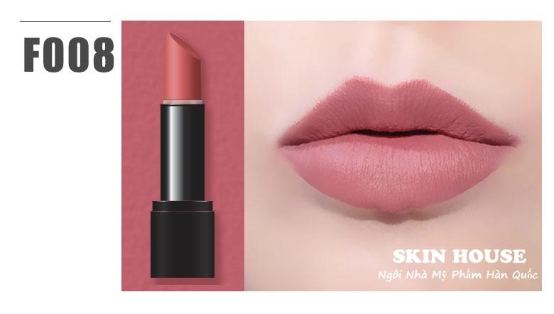 Amok Strongfix Lipstick màu F008