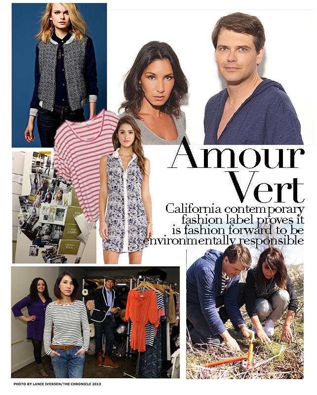 Các nhà thiết kế của Amour Vert cho rằng thời trang cũng có thể giúp bảo vệ môi trường.