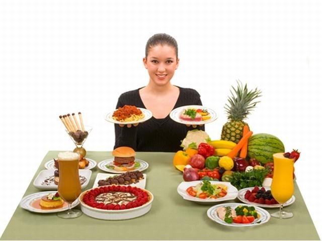 Chia nhỏ các bữa ăn trong ngày