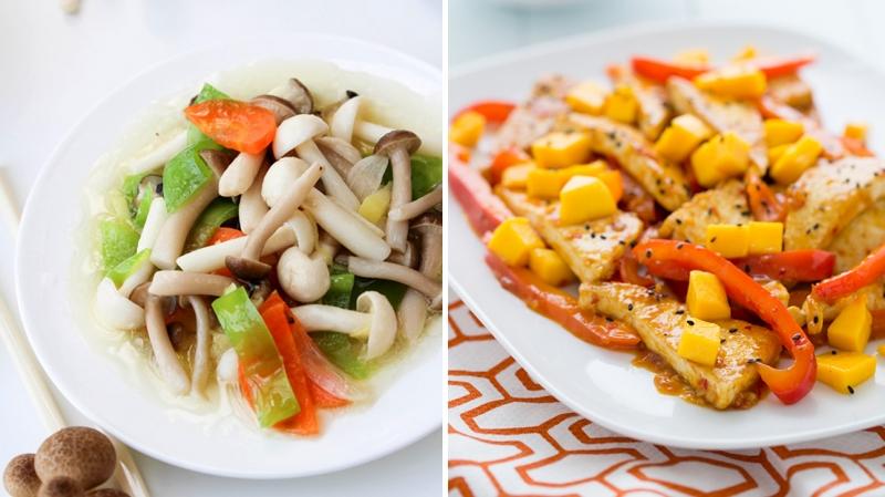 Thức ăn chay lại chính là lời khuyên tuyệt vời cho dịp đầu năm mới bởi tính thanh đạm của chúng sẽ giúp bạn tránh được các căn bệnh về nhiệt cơ thể và tiêu hóa