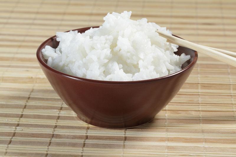 Cơm trắng không thể thiếu trong tất cả các bữa ăn của người Nhật