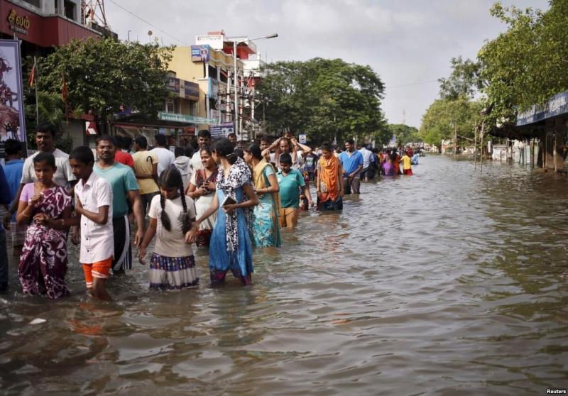 Số người thiệt mạng do biến đổi khí hậu/năm ở Ấn Độ là 1 triệu người