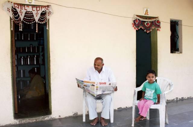 Ngôi nhà không có cửa ở Ấn Độ
