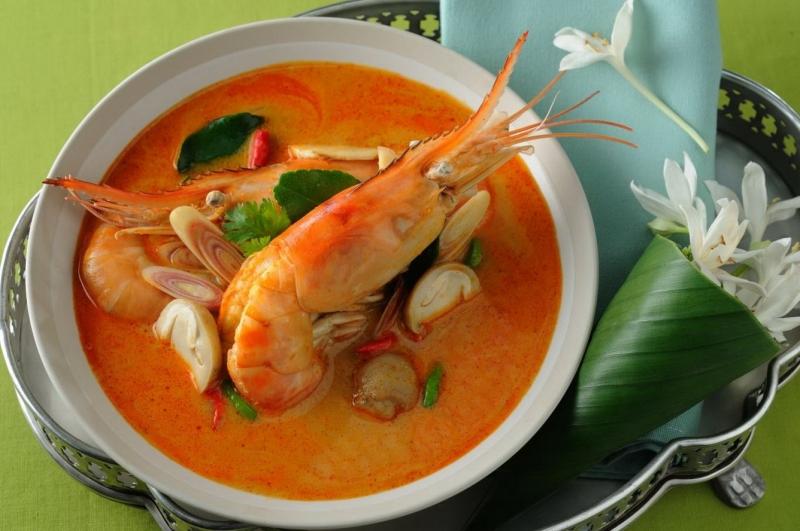 Món ăn đặc trưng của Thái Lan - Tom Yum (Nguồn: Sưu tầm)