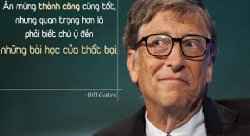 Ăn mừng thành công cũng tốt, nhưng quan trọng hơn là phải biết chú ý đến những bài học của sự thất bại.