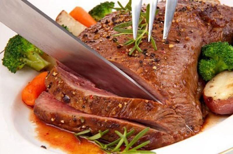 Ăn nhiều thịt vào bữa tối