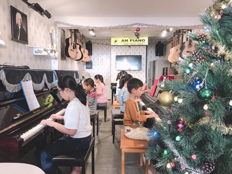 Không gian lớp học An Piano