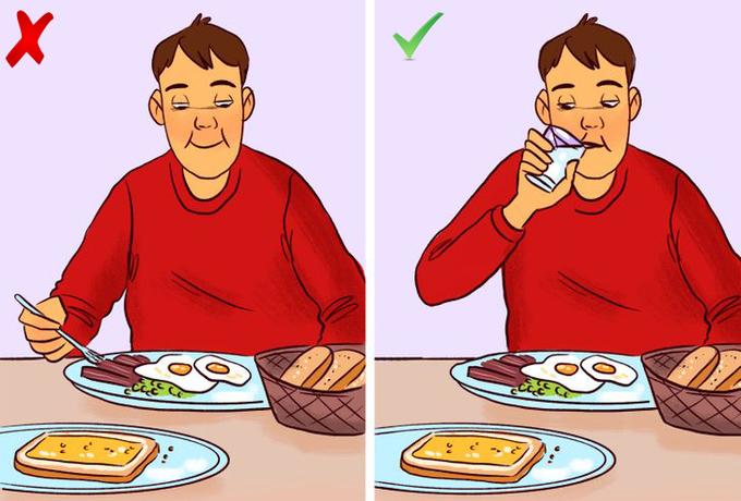 Ăn quá nhanh, nhai ít