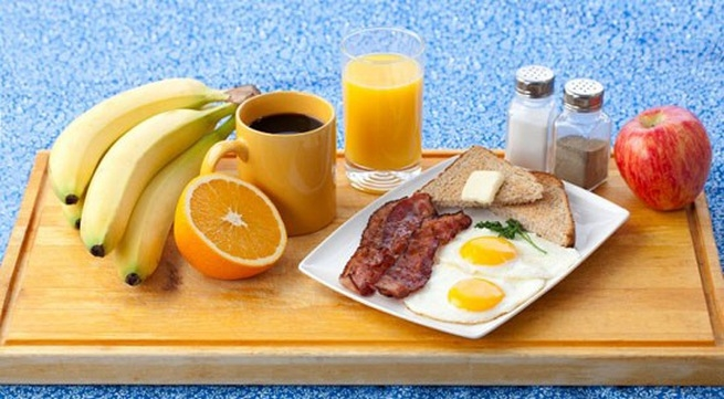 Ăn sáng giúp cung cấp năng lượng trong ngày