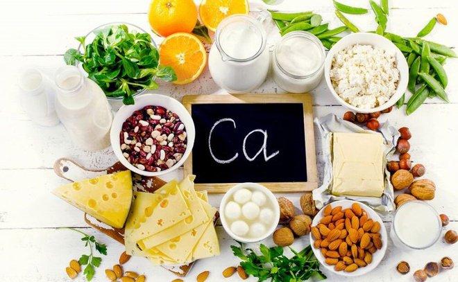 Ăn uống điều độ thực phẩm chứa calci