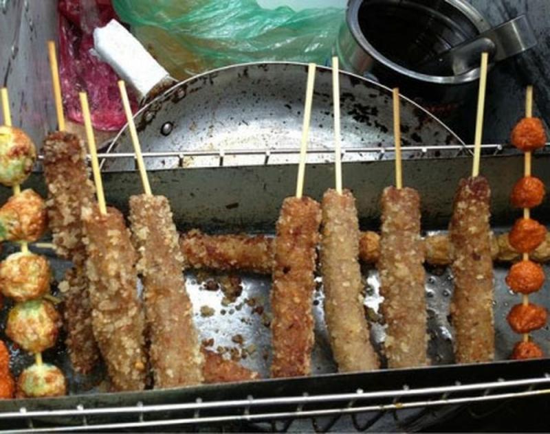 Những món ăn thần thánh gần trường