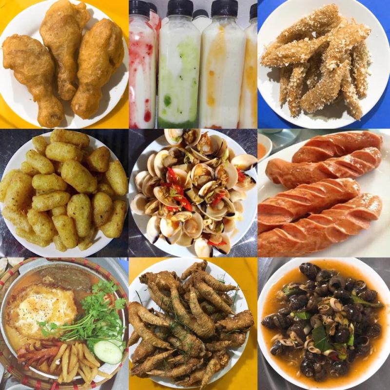 Những món ăn vặt được yêu thích tại quán
