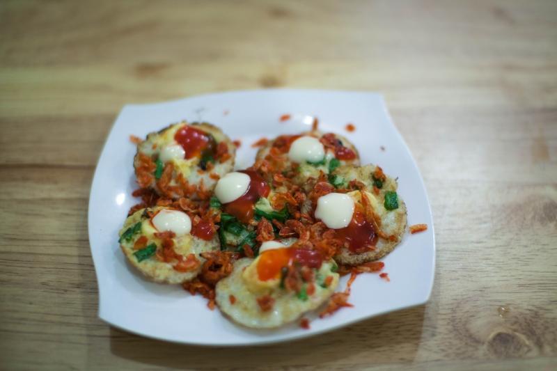 Chén trứng phô mai tại Đô Rê Mi