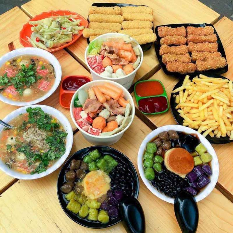 Ăn Vặt Sài Gòn - Tân Mai