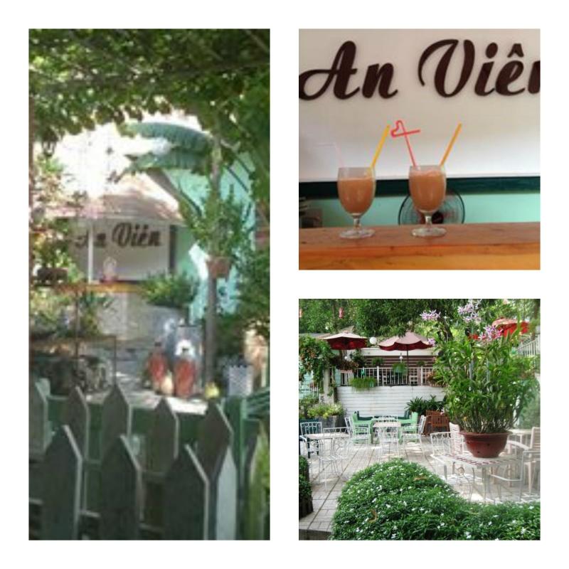 Thức uống, khuôn viên ở An Viên Cafe