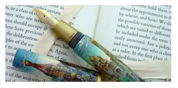 Một trong những thiết kế nổi bật khác của thương hiệu bút cao cấp Ancora (Người: Sưu tầm)