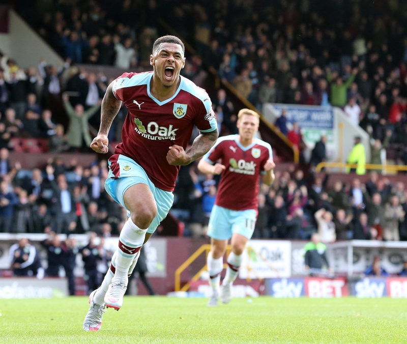Andre Gray (Burnley - 34,87 km/h)
