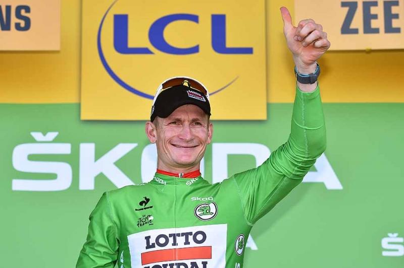 André Greipel tay đua đã 34 tuổi